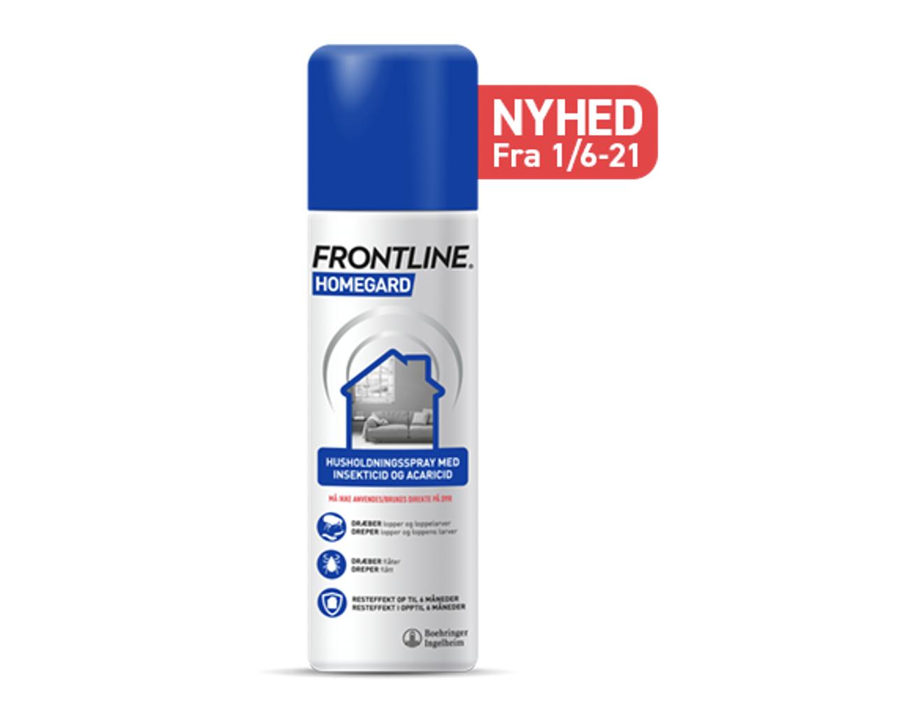 Befri dit hjem med Frontline HomeGard